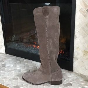 Frye Cara Tall Pull On suede boot - NEW W/OUT TAG